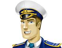 Creating character for web-page http://www.airwaysim.co