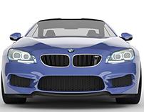 BMW M6 Digital Modeling