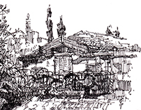 Jerusalem. Jaffa. Сity sketches