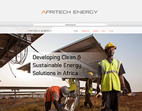 Afritechenergy Website