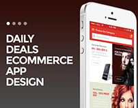 DailyDeals Ecommerce App Design