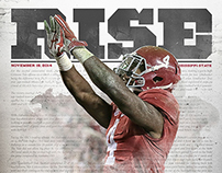 2014 Alabama Crimson Tide Recap Posters