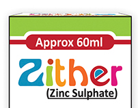 Zither Syrup / Product Design