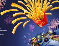 McDonald's 2014 New Year card