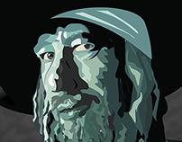 Barbossa - Pirates of the Caribbean - Illustration
