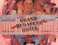 Grand busapest hotel poster