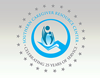 Southern Caregiver Resource Center - Anniversary Logo