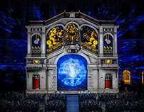 3d projection mapping. Warsaw University of Technology.