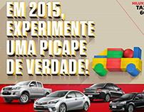 Anúncio Toyota Espaço Motors