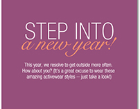 Roamans.com Content - Step into the New Year Slider