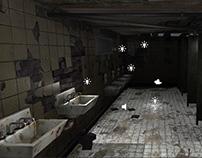 bathroom - unity 3d