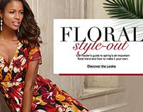 Roamans.com Content - Floral Trend Slider