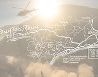 Rally Maps for Volkswagen Motorsport WRC 2015 Calendar