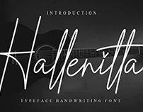 FREE | Hallenitta Font