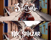 SETDRESSER / VIDEO CLIP 5 LETRAS