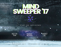 Mindsweeper - Event Branding and Website