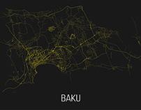 Baku Street Map