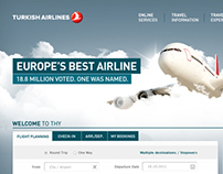 Turkish Airlines - Corporate Website Redesign