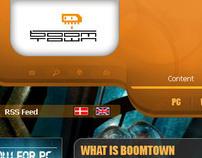 Boom town Website