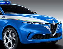 Alfa Romeo Tonale Polizia Pickup
