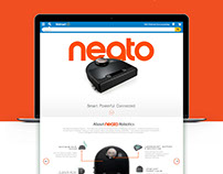 Neato Brand Experience Page.