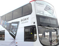 Sony Tablet S Series Bus Ad