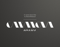 Casanova Typeface