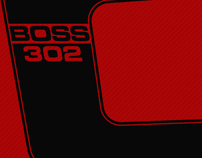 Ford BOSS 302 Laguna Seca 3D Concepts