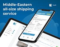 ShipME | UI/UX Shipment app