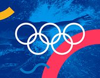 Budapest 2024 Olympics Bid Logo
