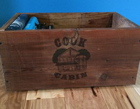 Logo and reclaimed wood projects