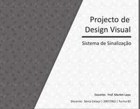 Design Visual - Projecto de Sinalização