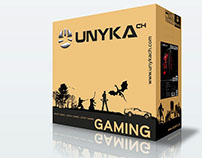 Packaging Computer Case Gaming UNYKAch