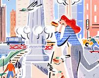 Eventbrite Chicago Illustrations