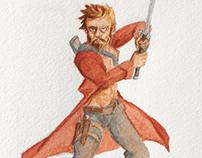 Red Swordsman