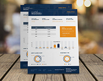 Annual Report Design- Real Estate