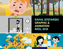 My 2018 Graphics and Animation Showreel