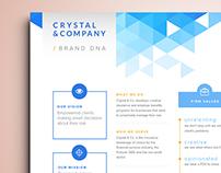 Crystal & Company One Sheet