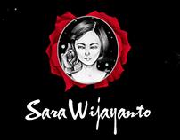 Sara Wijayanto mini-album cover Illustration