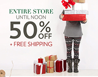 Vanity - Black Friday Fashionlink Email Series