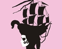 The Smart Pirate t-shirt
