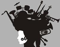 The Music t-shirt