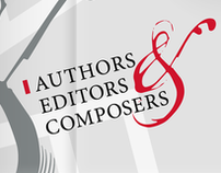 Authors, Editors & Composers