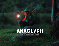 Free 3D Anaglyph Photoshop Actions