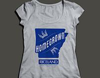 Homegrown Tshirt Design for Riceland