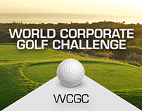World Corporate Golf Challenge - web design