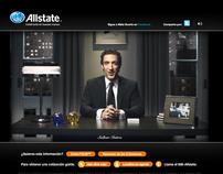 """Allstate """"Mala Suerte"""" microsite."""