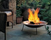 Backyard Blaze - Photo Art Direction | still life