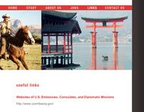 Nichibei Exhange - web design