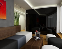 lounge bar + bedroom